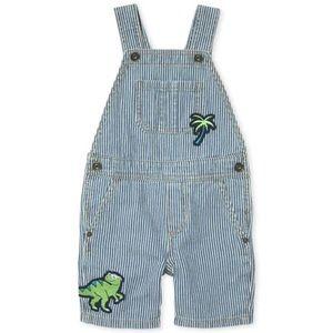 5/$25 SALE CHILDREN'S PLACE Denim Stripe Shortalls